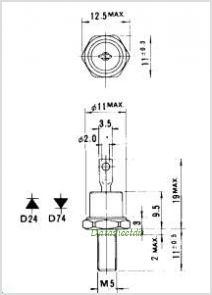 ERD24-06 pinout,Pin out
