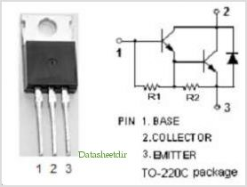 2SD560 pinout,Pin out