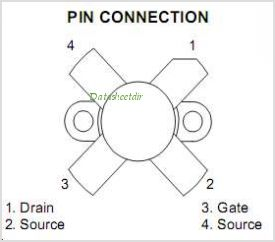 SD1405 pinout,Pin out