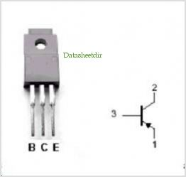 2SA1387 pinout,Pin out