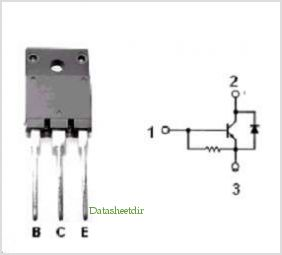 2SD2251 pinout,Pin out