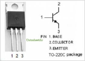 BD933 pinout,Pin out