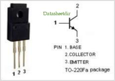 BD933F pinout,Pin out