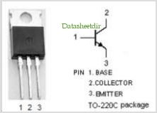 BDT31A pinout,Pin out