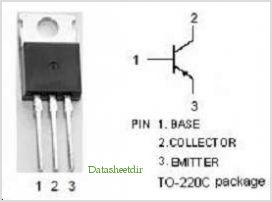 2N6107 pinout,Pin out