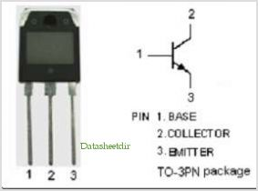 2SD1032 pinout,Pin out