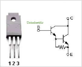 2SD1276 pinout,Pin out