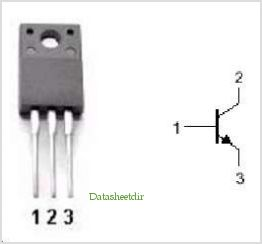 2SD1667 pinout,Pin out