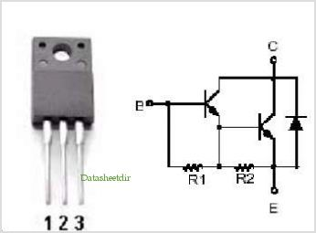 2SD1827 pinout,Pin out