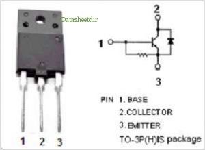 BU2515DX pinout,Pin out