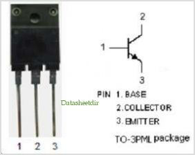 KSD5017 pinout,Pin out