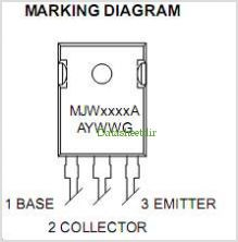 MJW3281A pinout,Pin out