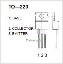 2SD880 pinout,Pin out