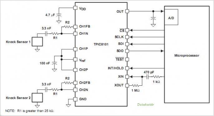 tpic8101 circuits