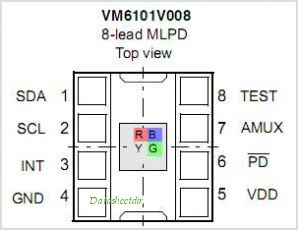 VM6101 pinout,Pin out