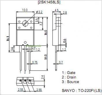 2SK1458LS pinout,Pin out