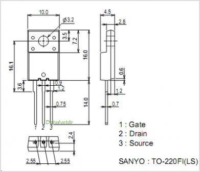 2SK2617LS pinout,Pin out