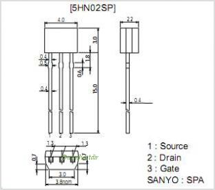 5HN02SP pinout,Pin out