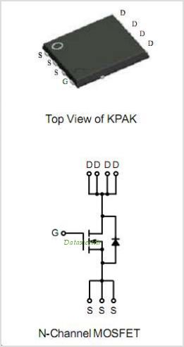 APM4354KP datasheet, Pinout ,application circuits N-Channel