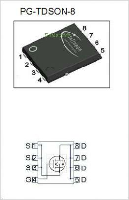 BSC100N03LSG pinout,Pin out