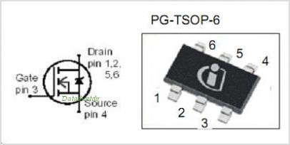 BSL302SN pinout,Pin out