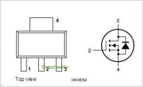 BSP106 pinout,Pin out