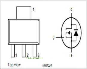 BSP145 pinout,Pin out