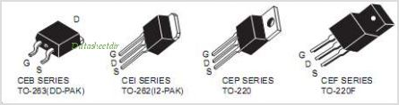 CEB740A pinout,Pin out