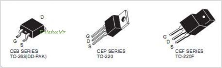 CEF80N75 pinout,Pin out