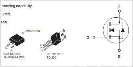 CEP73A3G pinout,Pin out