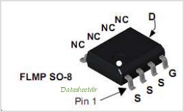 FDS4080N3 pinout,Pin out