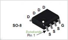 FDS4470 pinout,Pin out