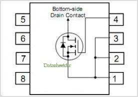 FDS7082N3 pinout,Pin out
