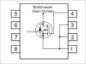 FDS7296N3 pinout,Pin out