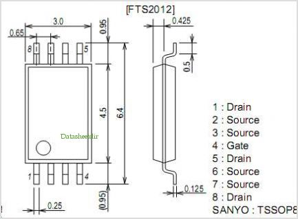 FTS2012 pinout,Pin out