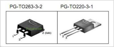 IPB100N06S2-05 pinout,Pin out