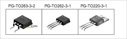 IPB80N06S3L-06 pinout,Pin out