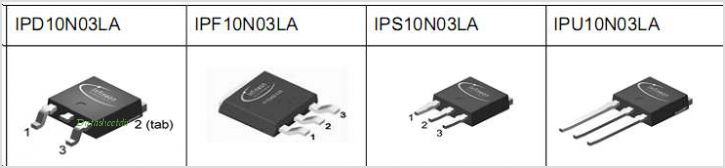 IPS10N03LA pinout,Pin out