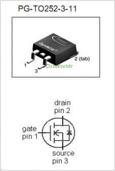 IPD30N06S2-15 pinout,Pin out