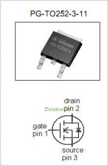 IPD50N06S3-15 pinout,Pin out
