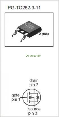 IPD90N04S3-04 pinout,Pin out