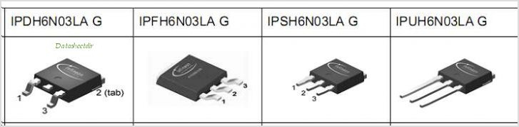 IPDH6N03LAG pinout,Pin out