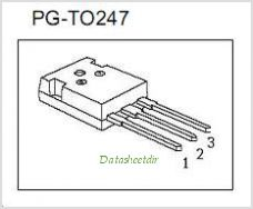 IPW90R120C3 pinout,Pin out