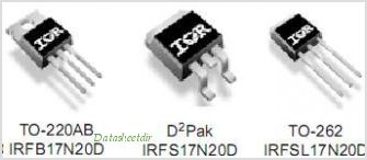 IRFB17N20D pinout,Pin out