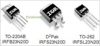 IRFS23N20D pinout,Pin out