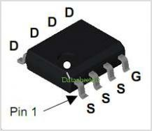 NDS8410A pinout,Pin out