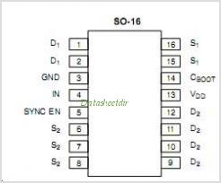 SI4724 pinout,Pin out