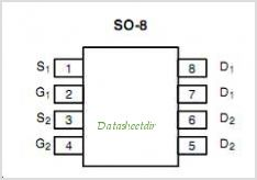 SI4944DY pinout,Pin out