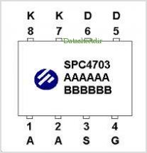SPC4703 pinout,Pin out