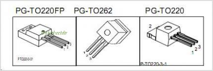 SPI07N60C3 pinout,Pin out
